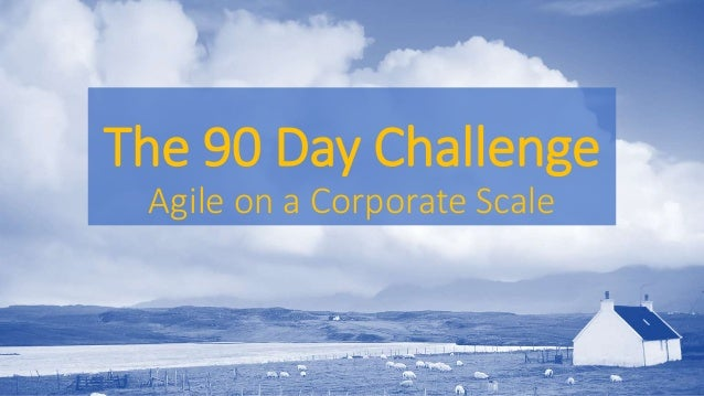 The 90 Day Challenge Agile on a Corporate Scale