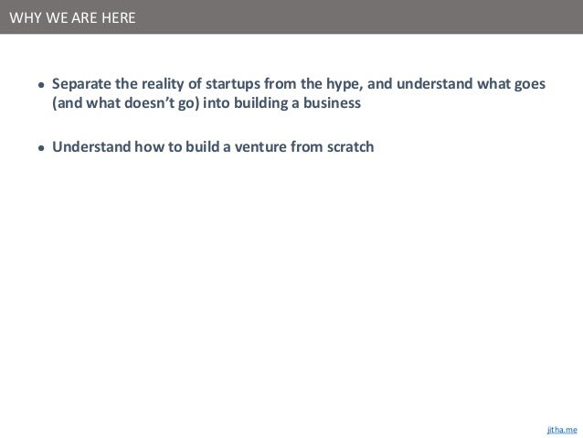 The truth about startups Slide 2