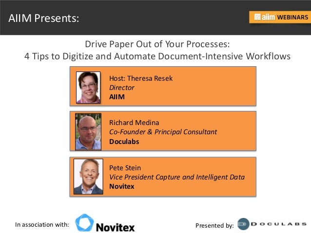 Drive Paper Out of Your Processes Slide 3