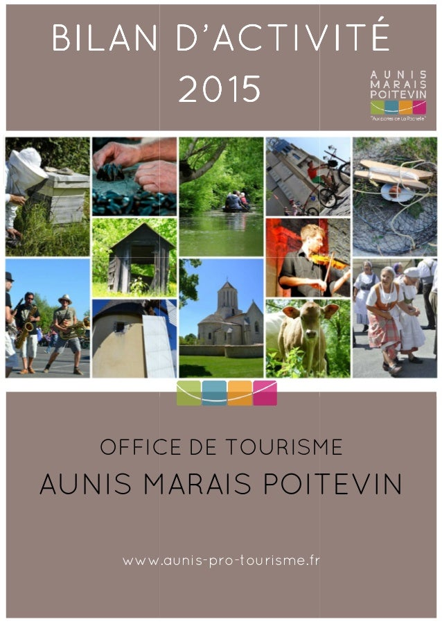 BILAN D'ACTIVITÉBILAN D'ACTIVITÉBILAN D'ACTIVITÉBILAN D'ACTIVITÉ OFFICE DE TOURISME AUNIS MARAIS POITEVIN www.aunis BILAN ...