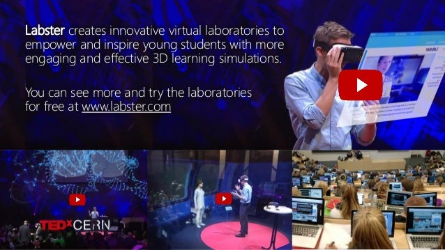 Labster creates innovative virtual laboratories to empower and inspire young students with more engaging and effective 3D ...