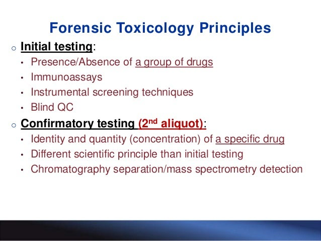forensic toxicology 2 essay What are the problems or limitations surrounding the use of forensic evidence in professional essay writers use of forensic evidence in toxicology, the study.