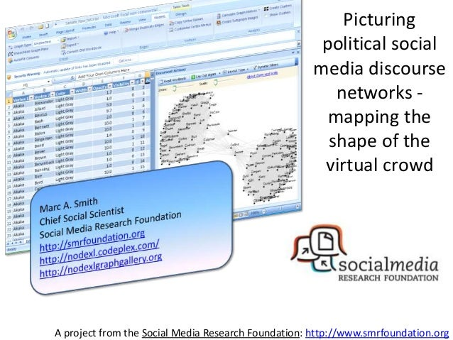 A project from the Social Media Research Foundation: http://www.smrfoundation.org Picturing political social media discour...
