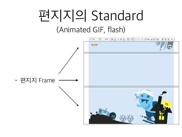 편지지의 Standard (Animated GIF, flash) • 편지지 Frame