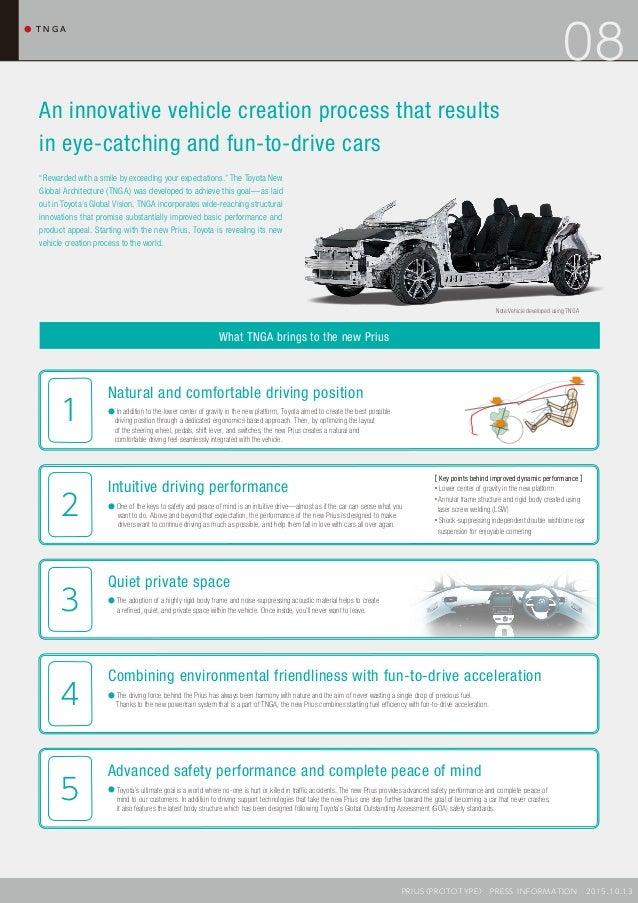 Toyota Prius 4 Presentation