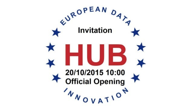 grand opening or the european data innvovation hub. Black Bedroom Furniture Sets. Home Design Ideas
