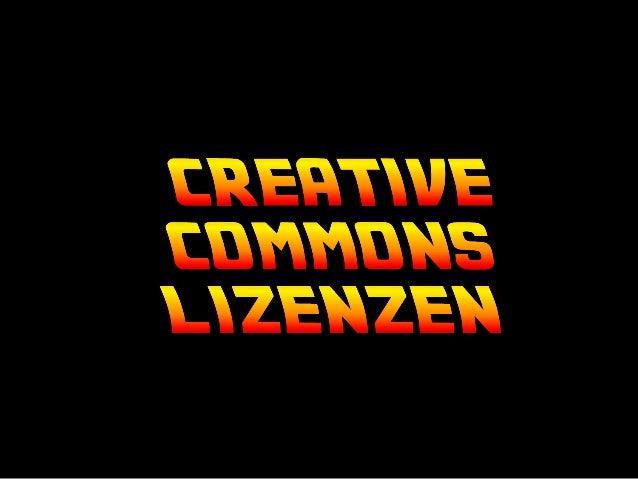 Creative Commons Lizenzen – Beispiel Flickr