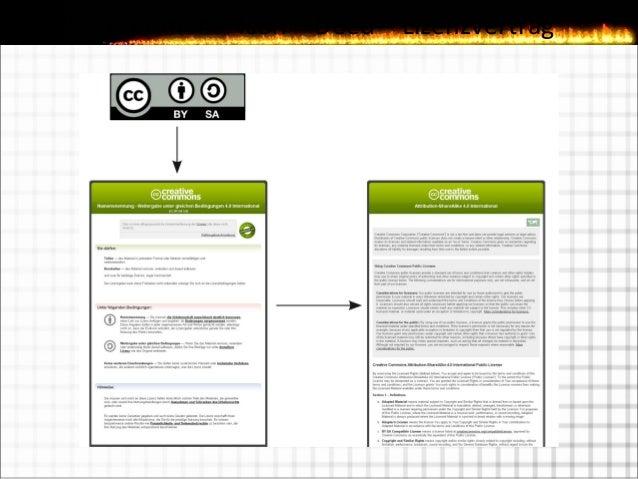Creative Commons Lizenzen
