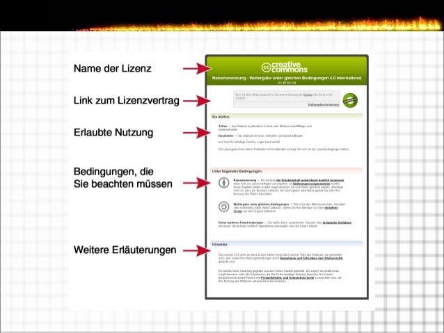 Creative Commons Lizenzen - Links  http://rechtsanwalt-schwenke.de/creative-commons  http://rechtsanwalt-schwenke.de/cre...