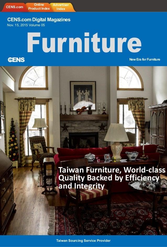 Cens Com Digital Magazines Nov 15 2015 Volume 05 New Era For Furniture