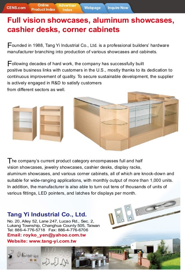 CENS.com Digital Magazines - 2015Y furniture volumes 05 | Best image of 52 best quality furniture products made in taiwan