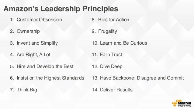 Leadership Principles - Amazon.jobs