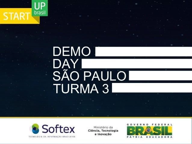 DEMO   DAY   SÃO PAULO TURMA 3