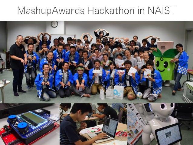 MashupAwards Hackathon in NAIST