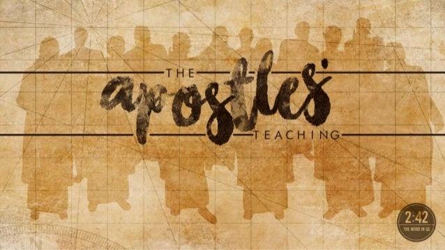 the apostles u0026 39  teaching