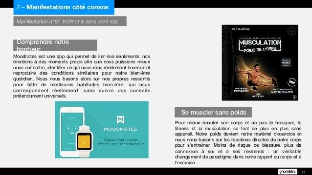 Manifestation n°6/ Instinct & sens sont rois Moodnotes est une app qui permet de lier nos sentiments, nos émotions à des m...