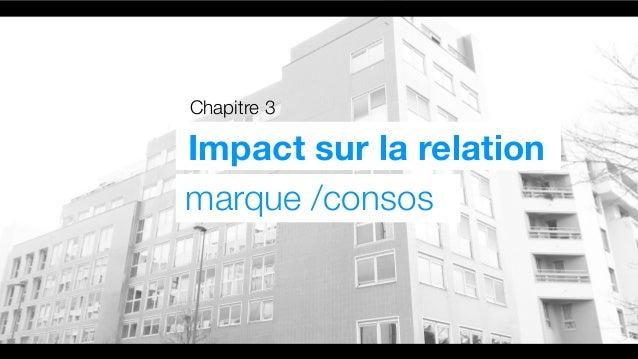 Chapitre 3 Impact sur la relation marque /consos