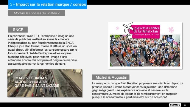 Montrer les choses de l'intérieur En partenariat avec TF1, l'entreprise a imaginé une série de publicités mettant en scène...
