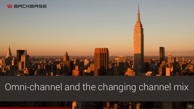 18 Omni-channel and the changing channel mix