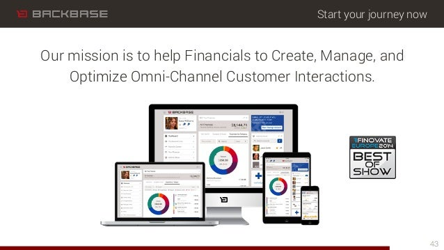 Start your journey now Our mission is to help Financials to Create, Manage, and Optimize Omni-Channel Customer Interaction...