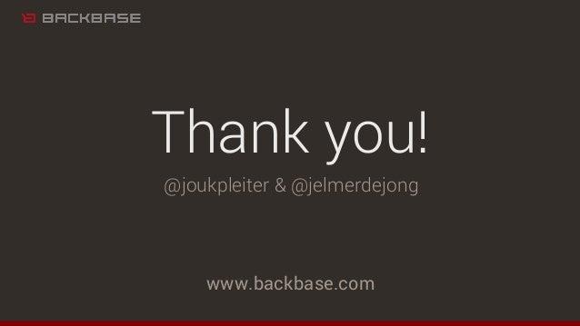 www.backbase.com Thank you! @joukpleiter & @jelmerdejong