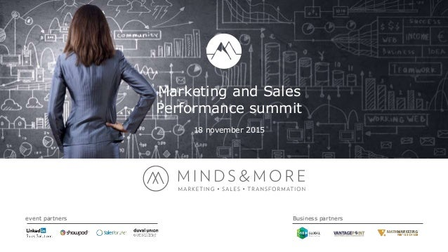 Marketing and Sales Performance summit 18 november 2015 event partners Business partners