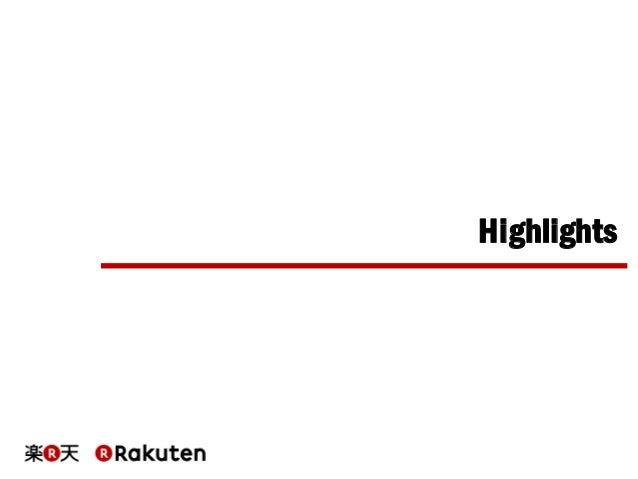 On what's attractive in Rakuten Technology Conference 2015, English version Slide 3
