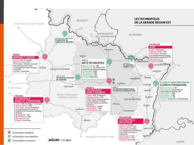 Les impacts de la création de la future région Est : éléments de réflexion Travaux réalisés en collaboration avec l'Aguram