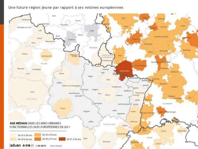 Une future région jeune par rapport à ses voisines européennes