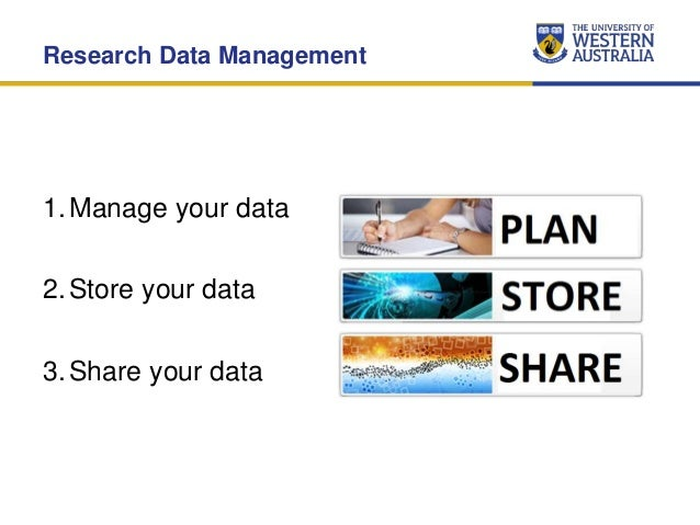 Research Data Management Services at UWA (November 2015) Slide 2