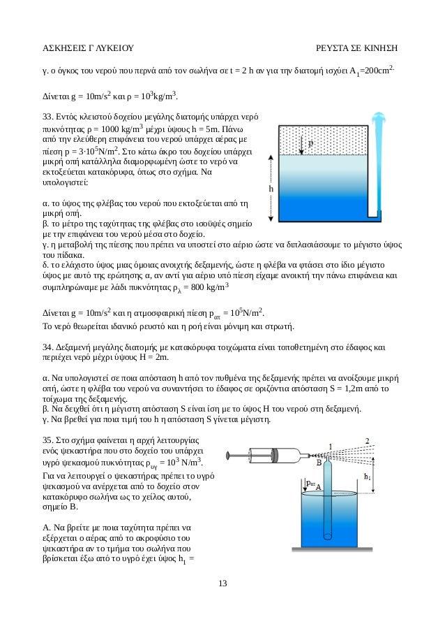 Το νερό της δεξαμενής πίεσης νερού