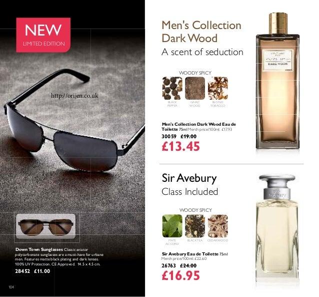 104 Men's Collection Dark Wood Eau de Toilette 75ml Merch price/100ml: £17.93 30059 £19.00 £13.45 Sir Avebury Eau de Toile...