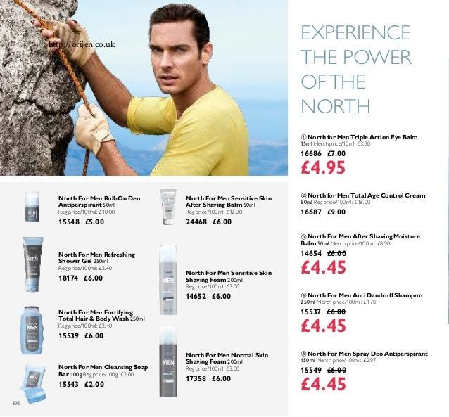 108  North For Men Anti Dandruff Shampoo 250ml Merch price/100ml: £1.78 15537 £6.00 £4.45  North For Men After Shaving M...