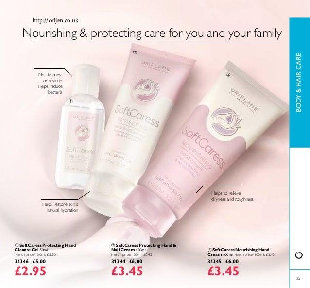  SoftCaress Protecting Hand & Nail Cream 100ml Merch price/100ml: £3.45 31344 £6.00 £3.45  SoftCaress Nourishing Hand Cr...