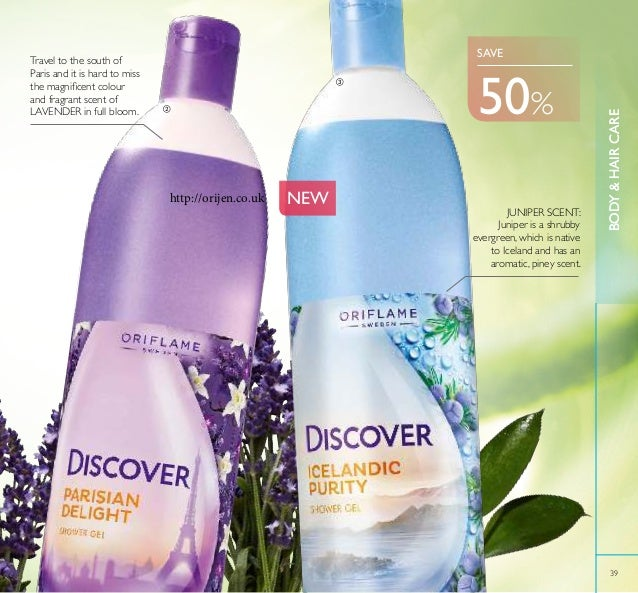 BODY&HAIRCARE 39 BODY&HAIRCARE Travel to the south of Paris and it is hard to miss the magniicent colour and fragrant scen...