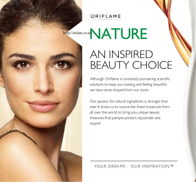 YOUR DREAMS – OUR INSPIRATION™ NATURE AN INSPIRED BEAUTY CHOICE Although Orilame is constantly pioneering scientiic soluti...