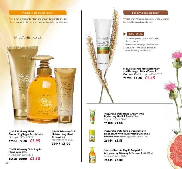 48  Milk & Honey Gold Liquid Hand Soap 300ml Merch price/100ml: £1.32 15578 £7.00 £3.95  Milk & Honey Gold Smoothing Sug...