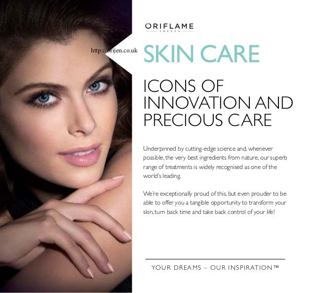 SKIN CARE ICONS OF INNOVATION AND PRECIOUS CARE Underpinned by cutting-edge science and, whenever possible, the very best ...