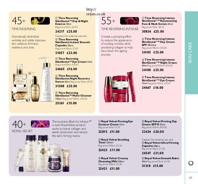 57                57  Time Reversing SkinGenist Night Recovery Serum 30ml Reg price/10ml: £8.33 31308 £25....