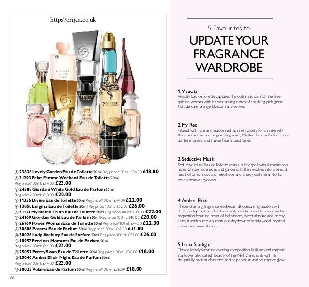98 5 Favourites to UPDATEYOUR FRAGRANCE WARDROBE 3.Seductive Musk Seductive Musk Eau deToilette casts a sultry spell with ...