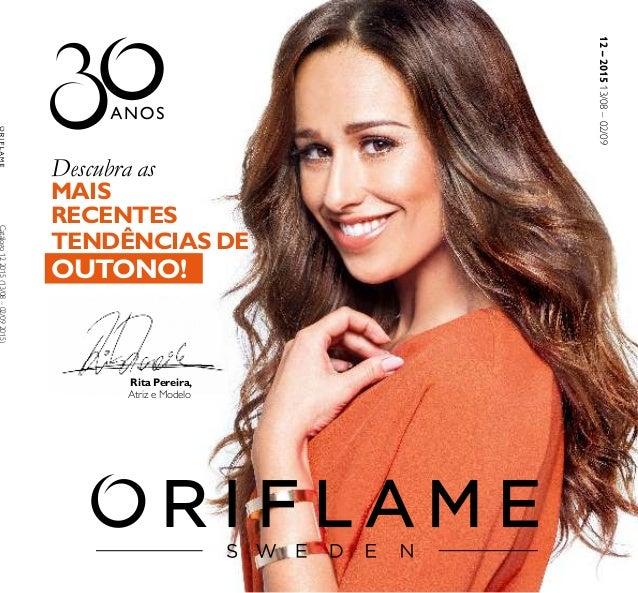 12–201513/08–02/09 Descubra as MAIS RECENTES TENDÊNCIAS DE OUTONO! Rita Pereira, Atriz e Modelo