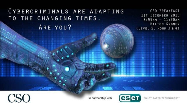 Are we doing enough? Juraj Malcho Chief Research Officer ESET