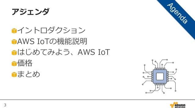 AWS Black Belt Tech シリーズ 2015 - AWS IoT Slide 3