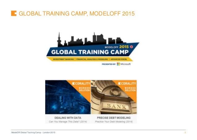 The 7 Deadly Sins Of Financial Modelling ModelOff Seminar