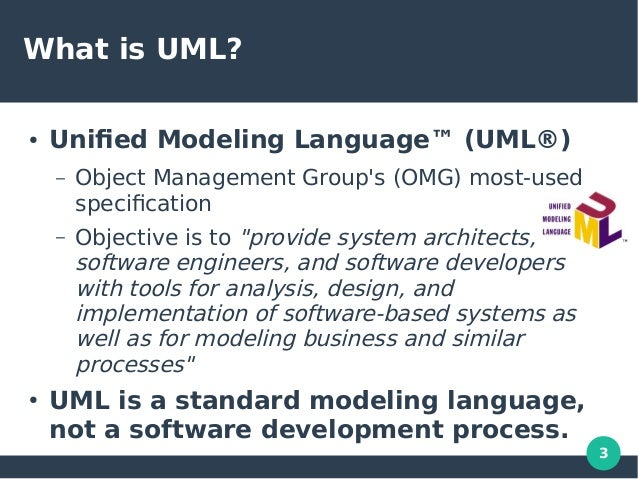 unified modeling language uml objectoriented