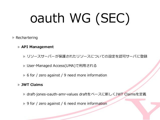 core WG (ART) A TCP and TLS Transport for the  Constrained Application Protocol (CoAP)  draft-‐‑‒tschofenig-‐...