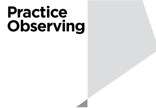 6 Tips for observing - 행동, 성향, 고려, body language, patterns, unexpected - What, How, Why