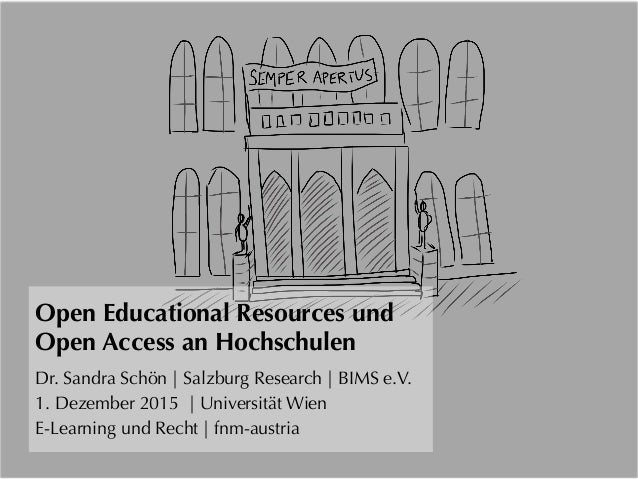 Open Educational Resources und