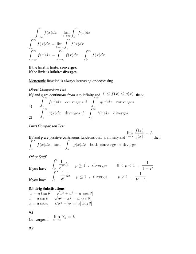 ~Guide to Self-Studying AP Calculus BC~ — College Confidential