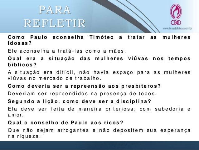 REFERÊNCIAS CALVINO, João. Pastorais. São Paulo: Edições Paracletos, 1998. GOPPELT, Leonhard. Teologia do Novo Testamento ...
